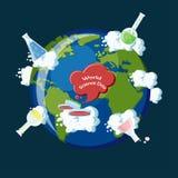 Dia da ciência do mundo Imagem de Stock