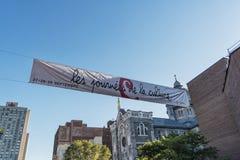 Dia da cultura em Montreal imagens de stock royalty free