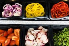Dia da dieta da salada fotos de stock royalty free
