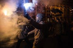 Dia da dignidade e da liberdade em Ucrânia Fotos de Stock Royalty Free