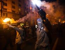 Dia da dignidade e da liberdade em Ucrânia Fotografia de Stock