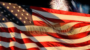 Dia da Independência Imagens de Stock Royalty Free