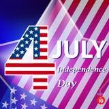 Dia da Independência americano Imagem de Stock Royalty Free