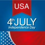 Dia da Independência americano Foto de Stock