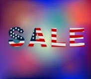 Dia da Independência americano borrado do fundo 4o julho borrou fotos de stock royalty free