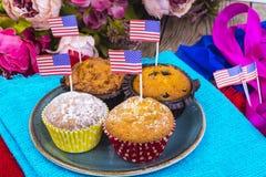 Dia da Independência americano, celebração, conceito do patriotismo - MU Foto de Stock