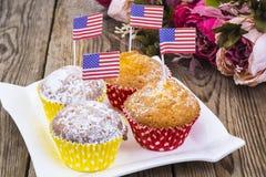Dia da Independência americano, celebração, conceito do patriotismo - MU Fotografia de Stock