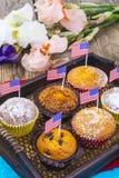 Dia da Independência americano, celebração, conceito do patriotismo - MU Foto de Stock Royalty Free