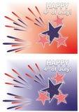 Dia da Independência de ô julho. Fotos de Stock Royalty Free