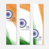 Dia da Independência de India 15o agosto ilustração royalty free
