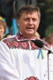 Dia da independência de Ucrânia Fotografia de Stock