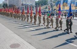 Dia da Independência de Ucrânia Imagem de Stock Royalty Free