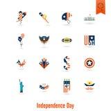 Dia da Independência do Estados Unidos Foto de Stock Royalty Free