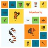 Dia da Independência do Estados Unidos Imagens de Stock