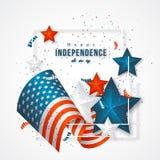 Dia da Independência dos EUA Imagem de Stock Royalty Free