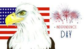 Dia da Independência em América Fotografia de Stock Royalty Free