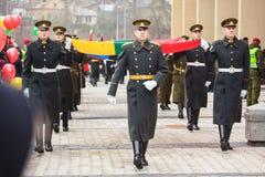 Dia da Independência em Vilnius Fotos de Stock