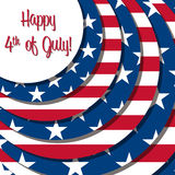 Dia da Independência feliz! Imagens de Stock Royalty Free