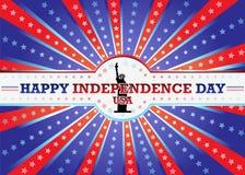 Dia da Independência feliz Imagem de Stock Royalty Free