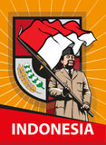 Dia da Independência indonésio Foto de Stock