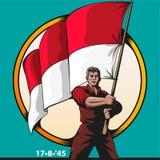 Dia da Independência indonésio Imagens de Stock