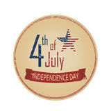 Dia da Independência o 4 de julho Fotos de Stock