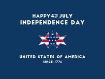 Dia da Independência - 4o a julho Foto de Stock
