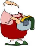 Dia da lavanderia de Santa ilustração royalty free