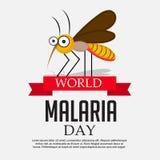 Dia da malária do mundo Fotos de Stock Royalty Free