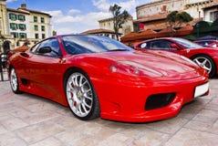 Dia da mostra de Ferrari - 360 Modena imagens de stock
