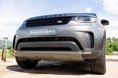 Dia da movimentação do teste da descoberta 2018 de Land rover imagens de stock royalty free
