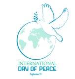 Dia da paz Fotos de Stock