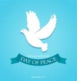 Dia da paz Imagens de Stock