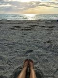 Dia da praia Foto de Stock Royalty Free