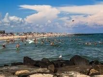 Dia da praia de Belmar Imagens de Stock Royalty Free