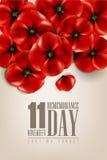 Dia da relembrança - 11 de novembro - a fim de que não nós esqueçamos Imagem de Stock Royalty Free