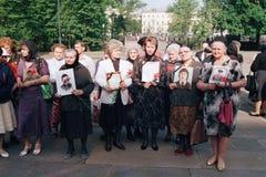 Dia da relembrança de soldados inoperantes do russo Fotos de Stock