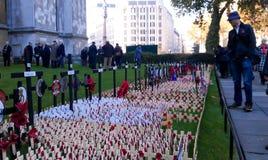 Dia da relembrança em Londres Foto de Stock