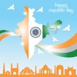 Dia da república da Índia Fotografia de Stock