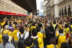 Dia 2 da reunião Bersih4, Malásia Fotos de Stock