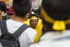 Dia 2 da reunião Bersih4, Malásia Imagens de Stock