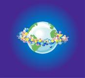 Dia da Terra Imagem de Stock