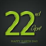 Dia da Terra feliz Fotografia de Stock Royalty Free