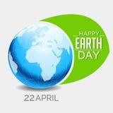 Dia da Terra feliz Fotos de Stock