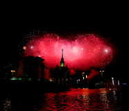 Dia da vitória em Moscovo Foto de Stock