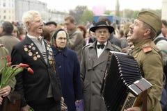 Dia da vitória em Rússia Fotos de Stock Royalty Free