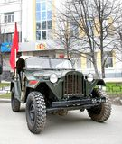 Dia 2014 da vitória em Yekaterinburg, Rússia Foto de Stock