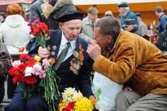Dia da vitória, Letónia Foto de Stock