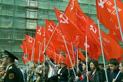 Dia da vitória maio em 9, 2008 imagens de stock royalty free
