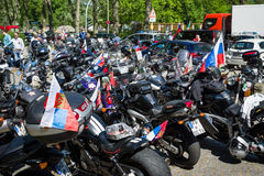 Dia da vitória no parque de Treptower berlim Fotografia de Stock